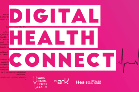 Affiche Digital Health Connect 2020